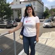 Sandra Schraudolf,  Kinderkrankenschwester, angehende Hebamme